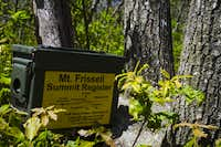 Register on Mount Frissell
