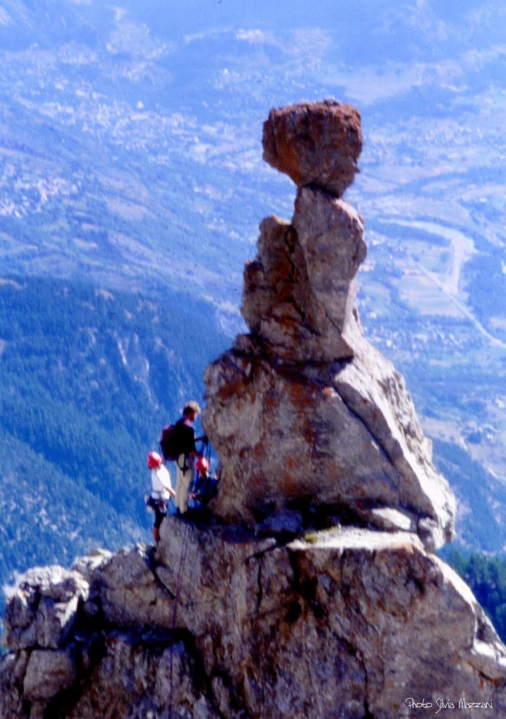 The mushroom at the top of the first tong, Tenailles de Mombrison