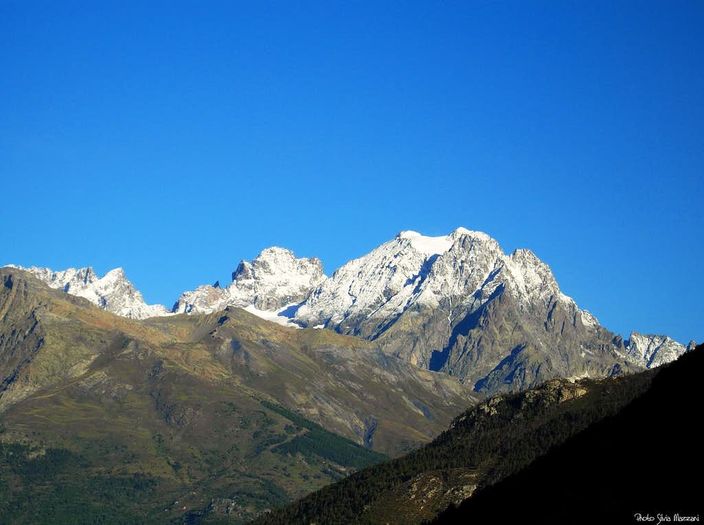 The Ecrins Massif seen from SE