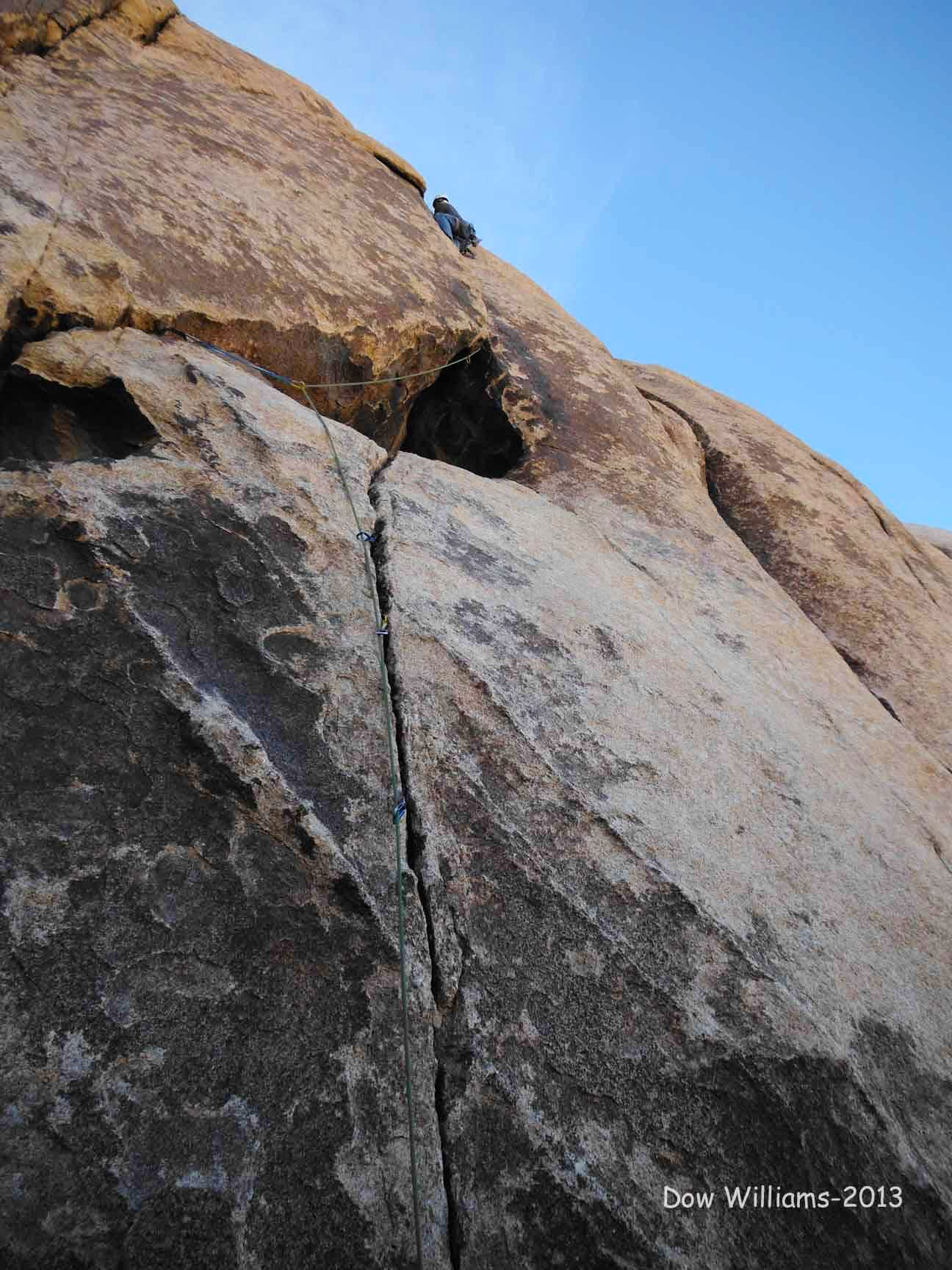 Wonder Bluffs, 5.7-5.10b