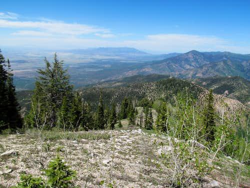 Fool Creek Peak from Mine Camp