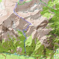 Black Cloud Trail - Mount Elbert