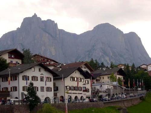 Sciliar from Castelrotto