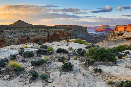 Lake Powell from Grand Staircase Escalante