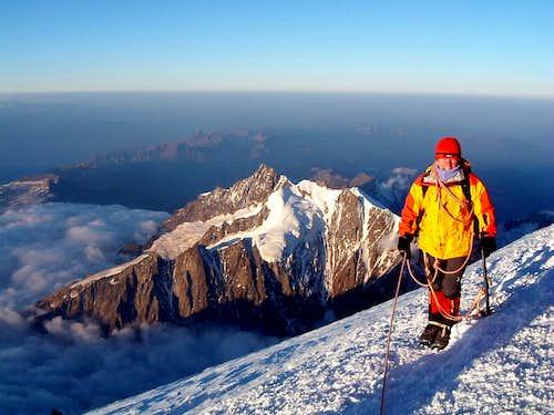 Summit of Monte Bianco