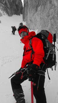 Jalovec in winter