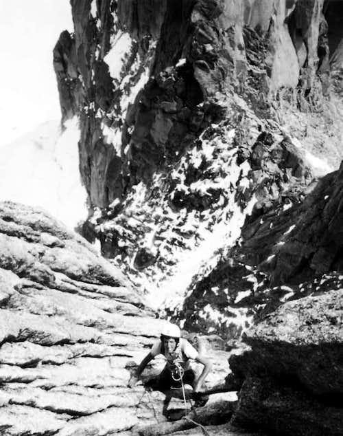 Northern RANGES Sum Capucin Total Free Climbing 1969