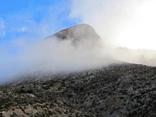 Turtlehead Peak fogging up