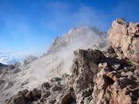 Summit crater of Teide. Jan...