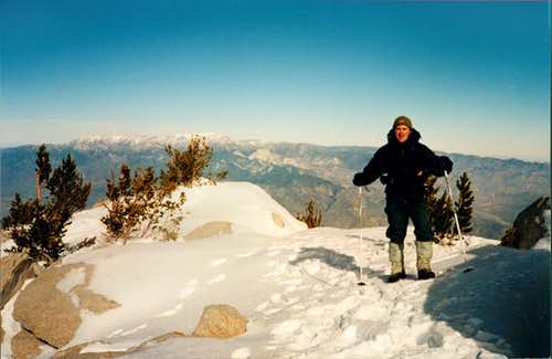 Jim Kowalski on the summit of...
