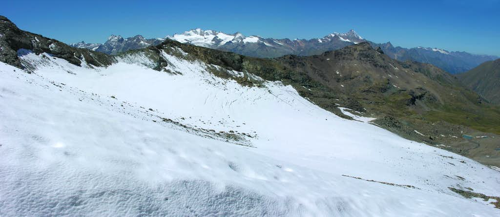 GLACIERS of the Aosta Valley