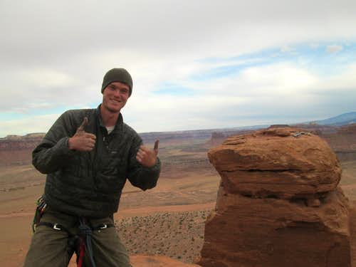 Myself on the summit of the South Six Shooter