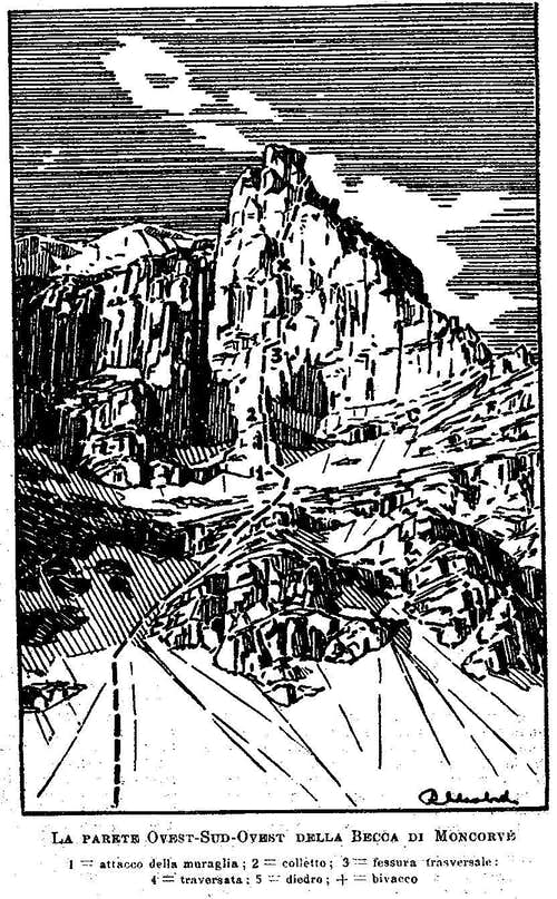 1939: extreme rock at Moncorvé