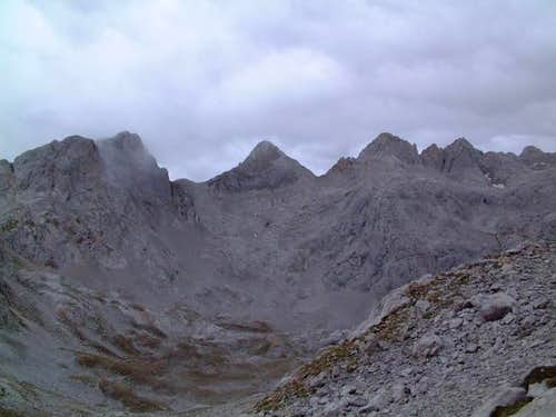 General view from