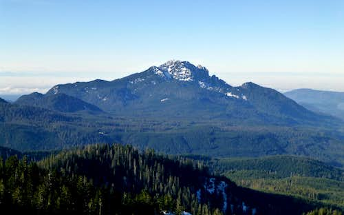 Mount Pilchuck from Everett Peak