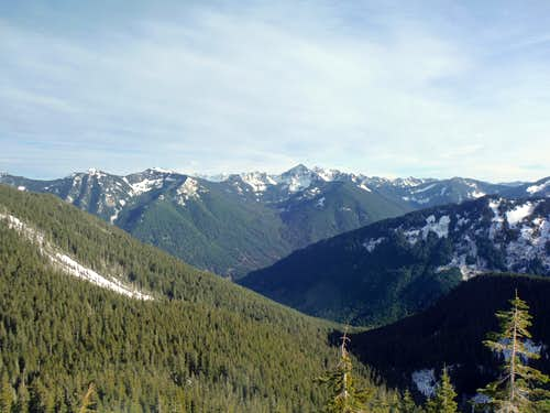 From the saddle of Thompson Point (1/17/14)