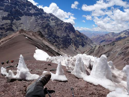 Mount Bonete, Argentina, December 2013