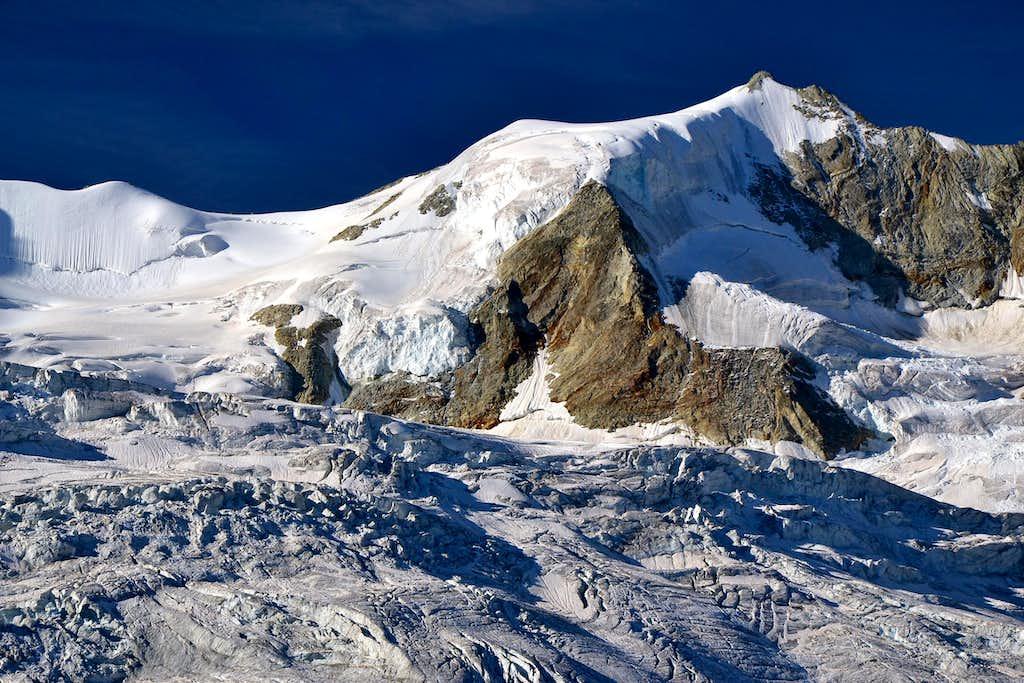 Blanc de Moming (3663 m) and Glacier de Moming