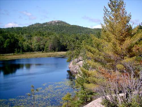 Hogback Mountain as viewed...