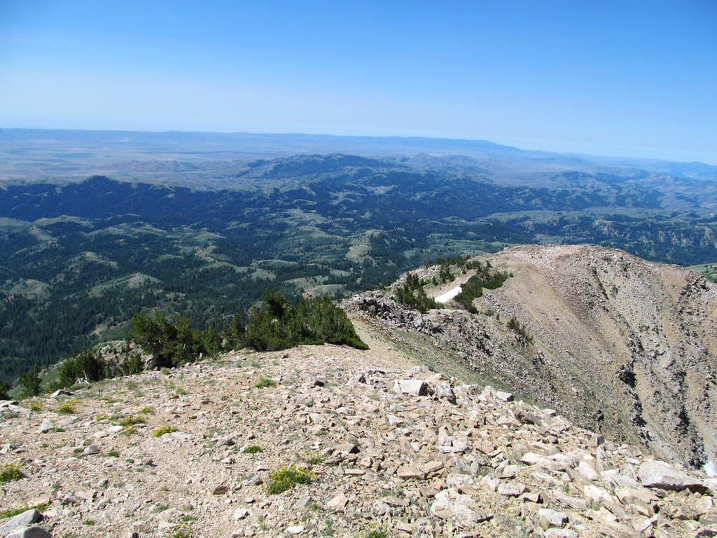 SW from Smoky Dome