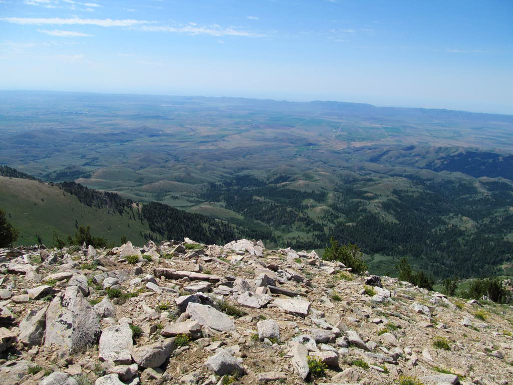 South from Smoky Dome