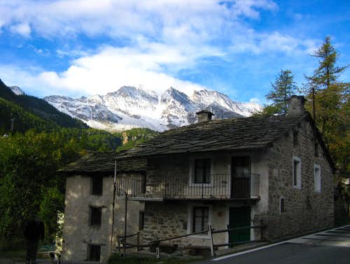 Traditional House near Ceresole Reale