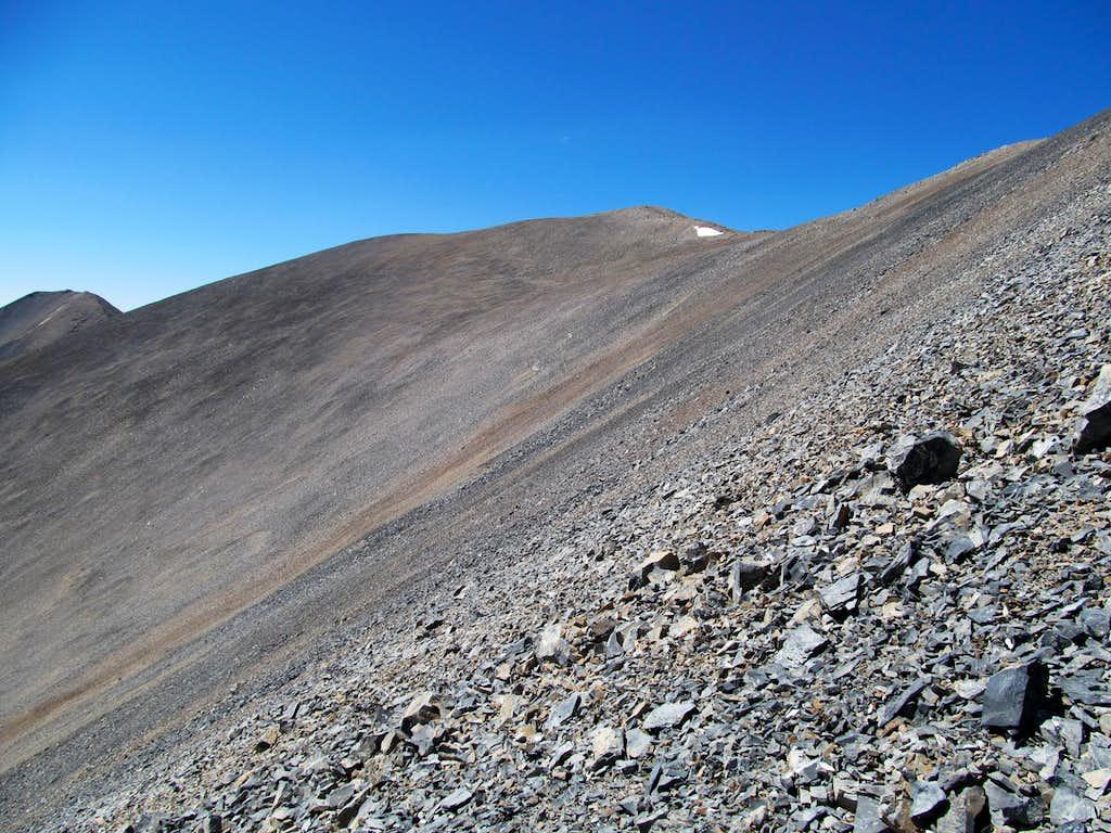 nearing Redbird summit