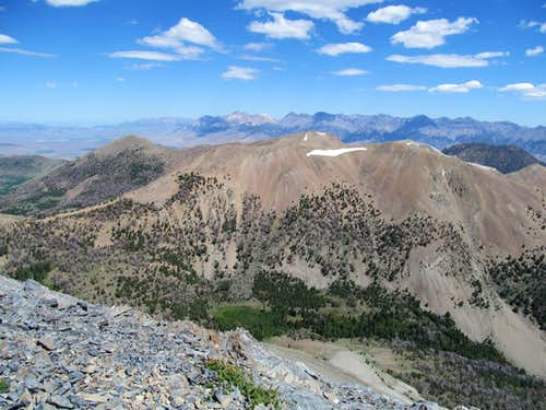White Knob Peak & Lost Rivers
