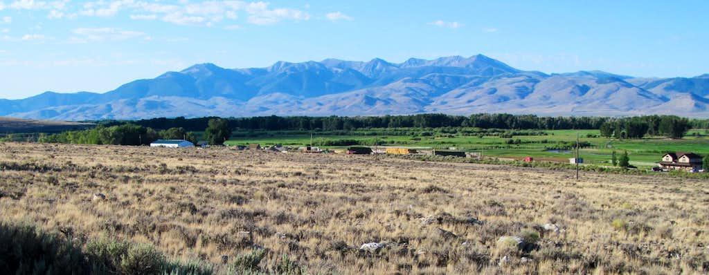 White Knob Range