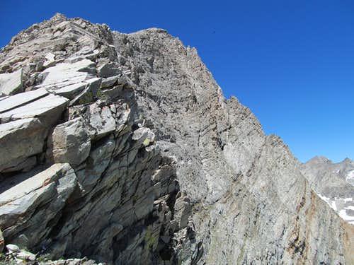 rugged part of the East Ridge