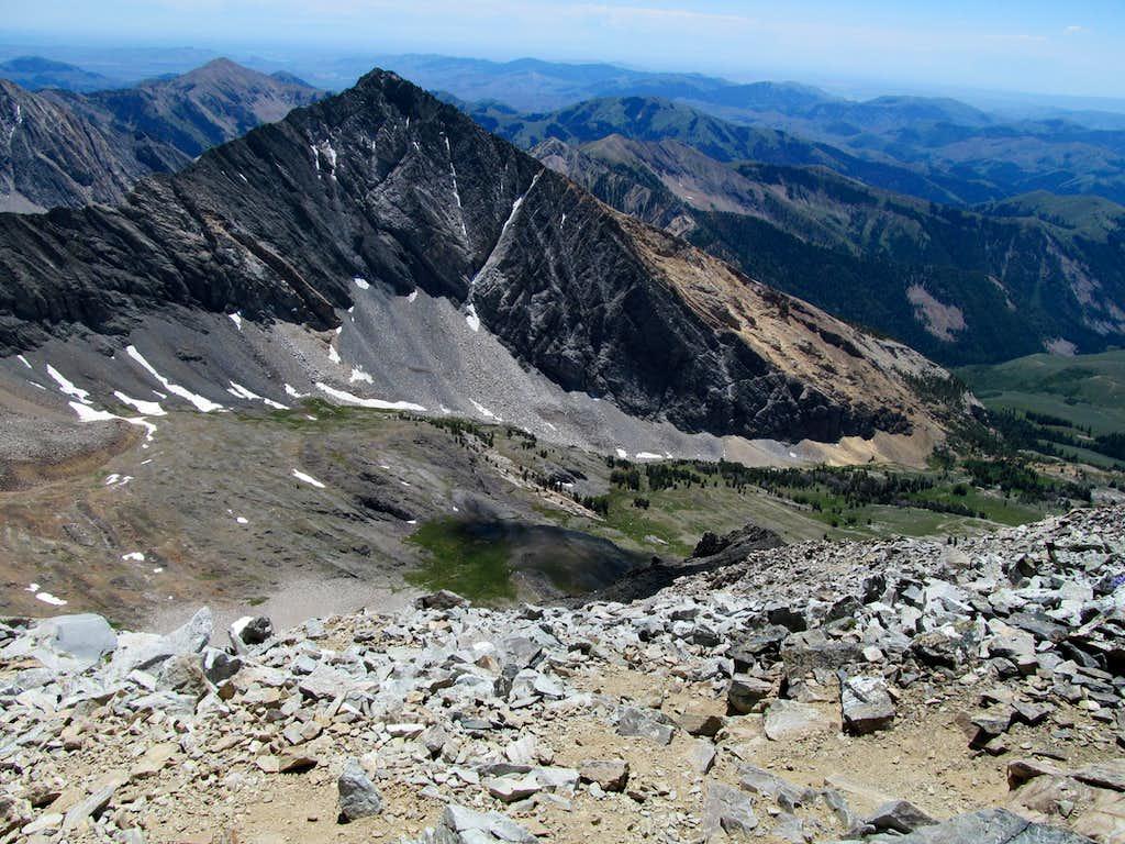 Cobb along Hyndman descent