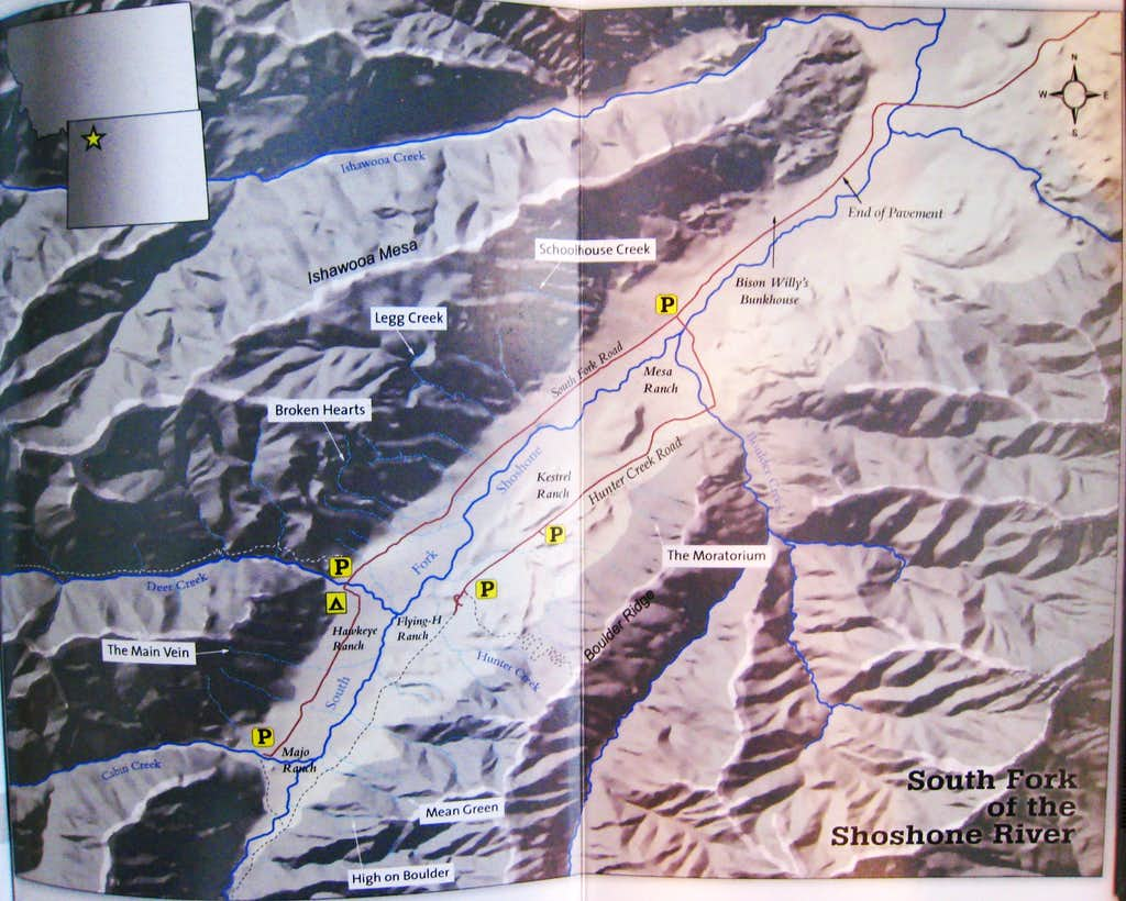 South Fork Map