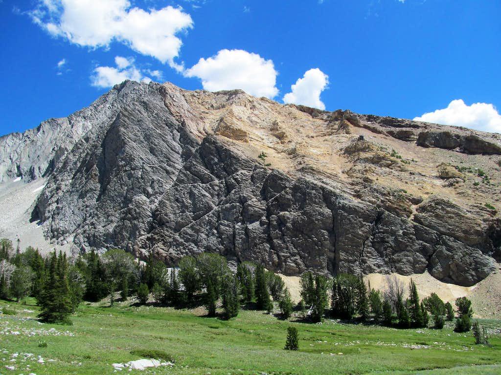 flanks of Cobb Peak