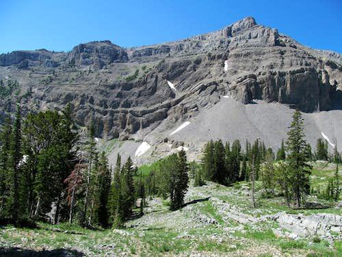 ridges east of Fitz