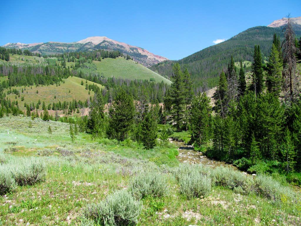 Wyoming Range near the TH