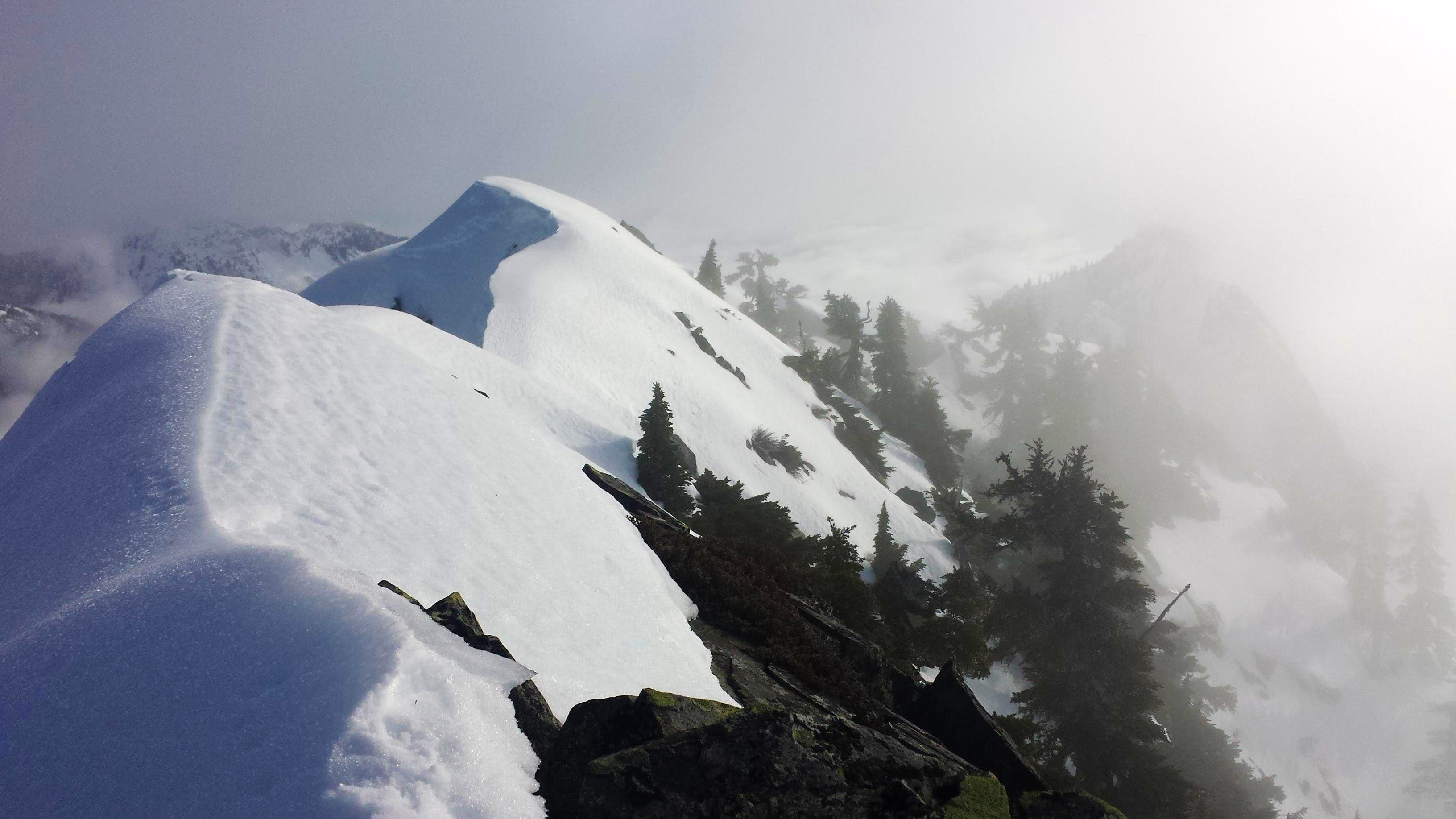Bryant Peak and Low Mountain 1-22-2014