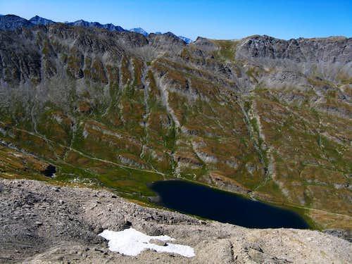 Lake Forèant summit view