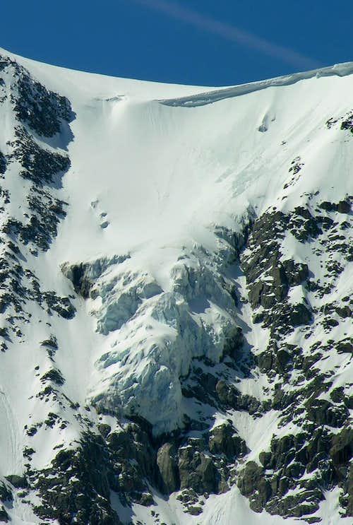 Mont Frety Glacier