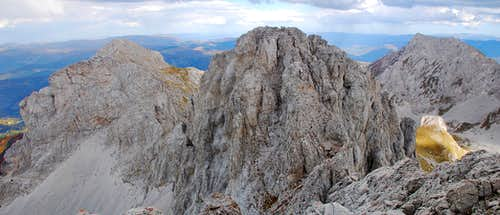 Kučki Kom summit view