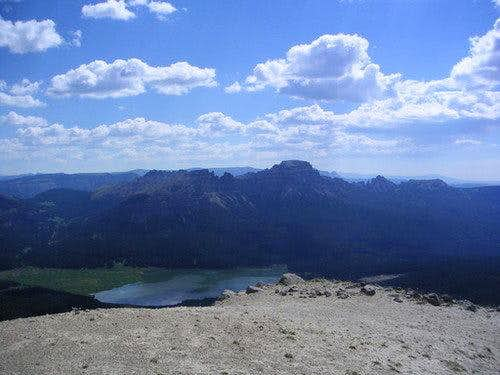 The Pinnacle Buttes from Peak 11,040'+ [Mt. Sublette]