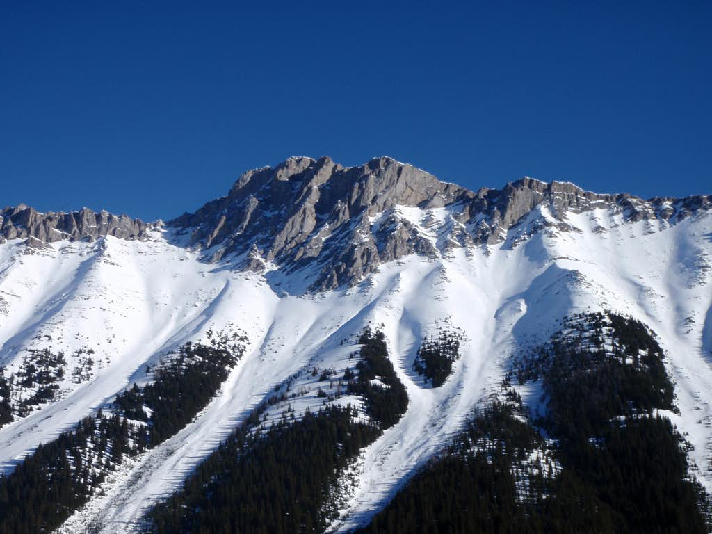 West Face of 'South Schlee'