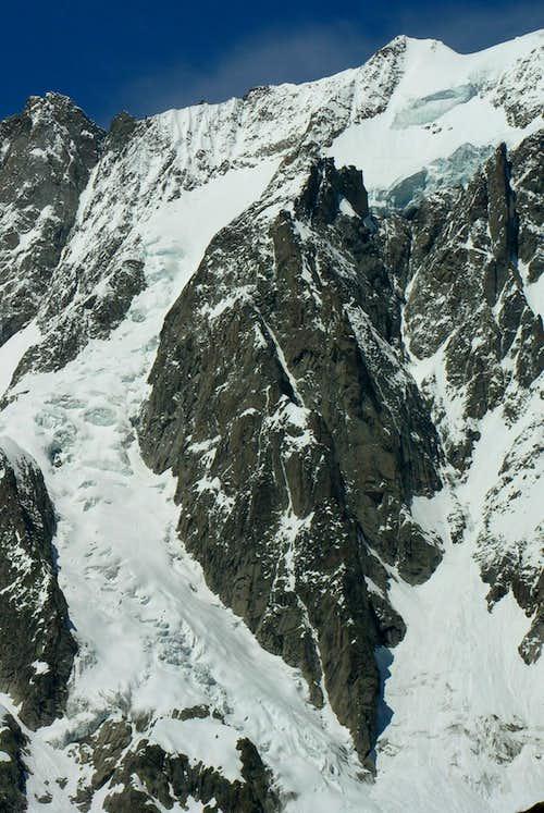 Grandes Jorasses Glacier