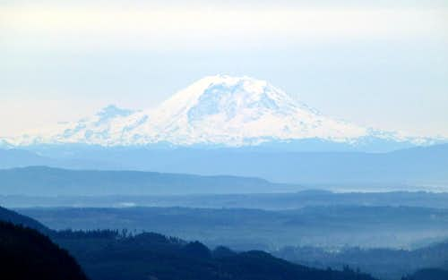 Mount Rainier from Frailey Mountain