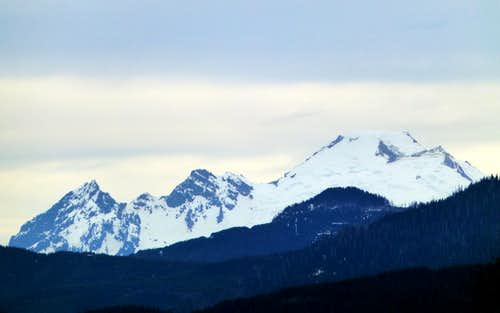 Mount Baker from Frailey Mountain