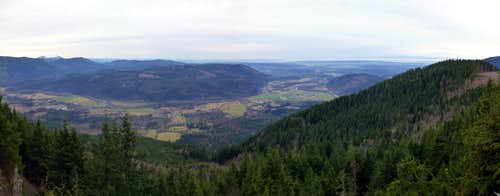 Frailey Mountain pano - south to west
