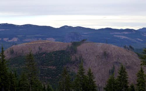 Cavanaugh Mountain from Frailey Mountain
