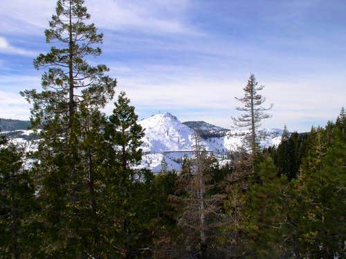 Cisco Butte from the trail to...
