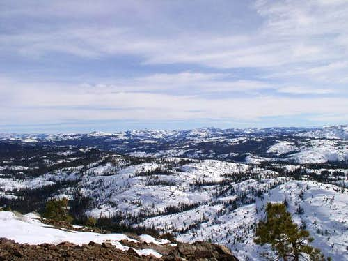 View of the Sierra Crest from...