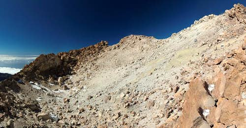 Teide s crater