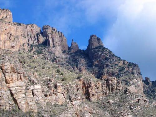 View of Finger Rock from the...
